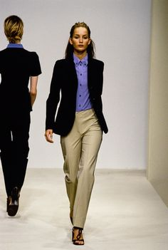 Prada Spring 1996 Ready-to-Wear Fashion Show - Georgina Grenville