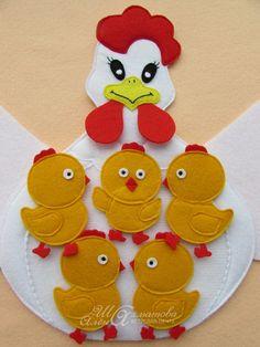 Мама-курочка и цыплятки - Babyblog.ru