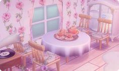 Pale & pink Wallpaper / custom QR credit
