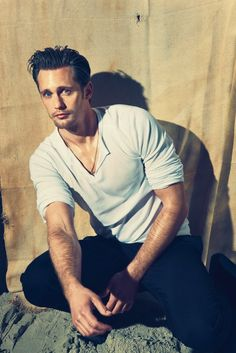So many pictures of the lovely Alexander Skarsgaard are popping up lately. #notcomplaining