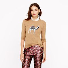 Camel sweater- 25% off any order at jcrew.com for 48 hours with code SECRET.