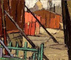 L'envers de la Foir 1926 - 1929 - Abstrait Figuratif - Frédéric FIEBIG