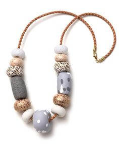Big Bead Necklace- Donatella $86 Aus.
