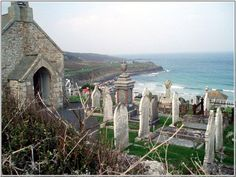 Barnoon Cem...St Ives, Cornwall - beautiful burial place