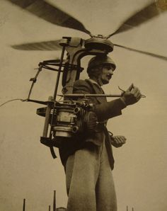 Thomas Bird wanted to fly so badly that he constructed a flying machine from an old outboard motor and discarded ceiling fan.  Unfortunately, he was only aloft for 7 minutes before colliding with a flock of seagull...