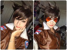 This is the best overwatch tracer I had seen. The costume is well made in high quality. #Overwatch #Overwatch Tracer.