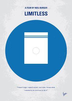 Limitless (2011) ~ Minimal Movie Poster by Chungkong #amusementphile