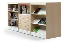 Class, estanterías para equipamiento de bibliotecas y escuelas