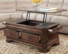 39 best Lift coffee tables images on Pinterest | Lift top coffee ...