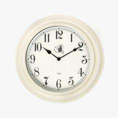 Relógio de Parede Dunedin Branco 25,5 x 7,6 cm | referência 76875047 | A Loja do Gato Preto | #alojadogatopreto | #shoponline Clock, Wall, Home Decor, Picture Clock, Gifts, Colors, Interiors, Boutique Online Shopping, Watch