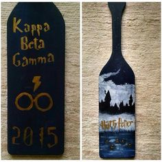Harry potter themed paddle: if only it had the big and littles names