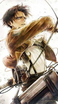 Attack on Titan Levi. Could be a great painting!