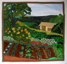 Allies in Stitches: Twenty Years in the Garden....Finished!
