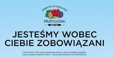 Fruit of the Loom - Nowości 2016