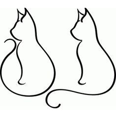 Silhouette Design Store - View Design #64480: cats