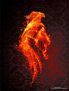 artistic phenoix | Phoenix by NekroXIII  Crucifix instead of a key. ~~~Intrinsically feminine