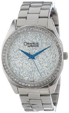 Caravelle by Bulova Women's 43L158 Crystal Watch -