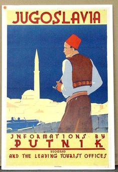 1006: TRAVEL POSTER. JUGOSLAVIA. : Lot 1006