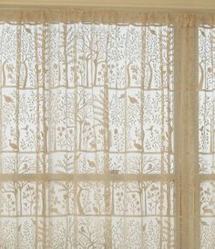 Rabbit Hill curtains for patio door