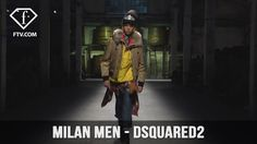 Milan Men FW 17-18 - DSQUARED2 Full Show | FashionTV