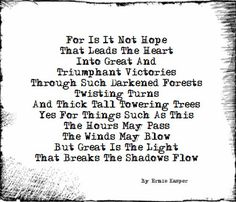 ~All For Hope~ By Ernie Kasper #poetry   #poem   #words   #pondering   #hope   #canadianpoet   #fraservalley   #langleyfresh