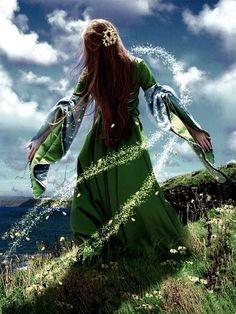Ériu, the patron goddess of Ireland.