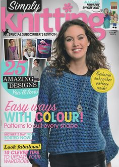 Ravelry: Simply Knitting 90, March 2012