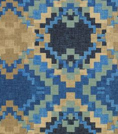 "Waverly Upholstery Fabric 54""-Cabin Fever/Denim"