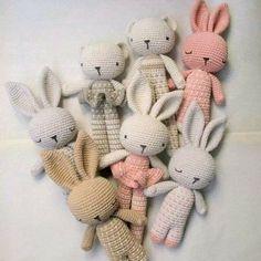 Amigurumi coniglietti nanna