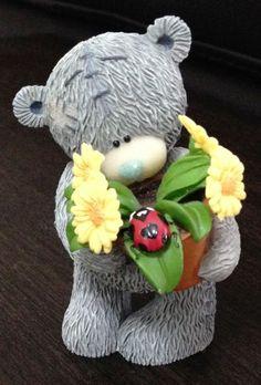Me to You Tatty Teddy Bear Figurine: Love Bug 2005