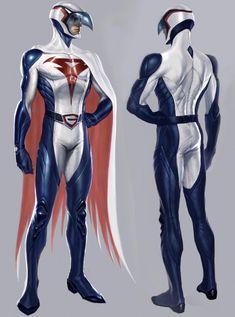 #G-force #battleoftheplanets Comic Book Heroes, Comic Books Art, Comic Art, Comic Character, Character Concept, Character Design, Thundercats, Anime Superhero, Battle Of The Planets