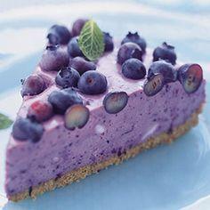 The PERFECT Backyard BBQ Finisher: Blueberry Icebox Pie   SELF