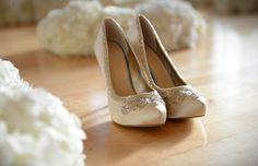 the wedding heels.. :)