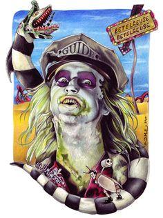 Tim burton fan art | The Tim Burton Fan Art Of Donna Marie Evans - Mindhut - SparkNotes