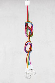 lampy-Żyrandol 5 sznurów - FRESH