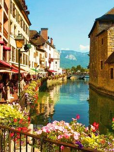 Annecy, known as the Venice of the Alps, France Oh The Places You'll Go, Places To Travel, Travel Destinations, Places To Visit, Holiday Destinations, France Travel, Italy Travel, India Travel, Dream Vacations