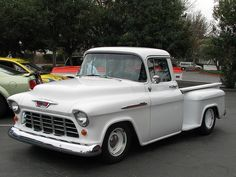 1956 chevy pickup | 1956 Chevrolet 3100 Stepside Pickup (Custom) '1K29973' 1 | Flickr ...