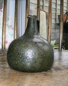 18th Century Onion Bottle