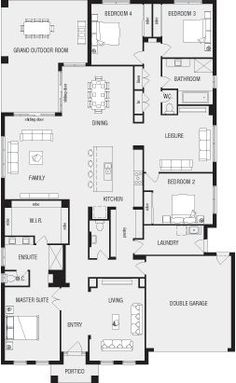 Lincoln, New Home Floor Plans, Interactive House Plans - Metricon Homes - Queensland