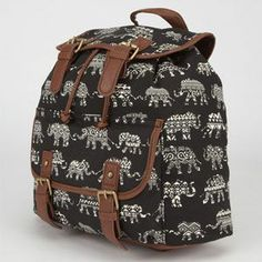 Ethnic Elephant Print Backpack from Tilly's $34.99. So cute!!!
