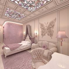 Oh my goodness I have just decided that I want my room to look just like this! Luxury Bedroom Design, Girl Bedroom Designs, Girls Bedroom, Interior Design, Design Design, Dream Rooms, Dream Bedroom, Room Decor Bedroom, Fantasy Bedroom