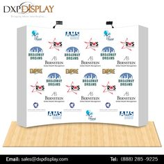 DXP Display brings an exclusive range of portable trade show display booths that communicate an impactful message to your audience with ease.