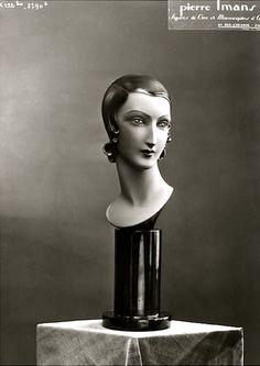 Mannequin, c1950 (Pierre Imans)