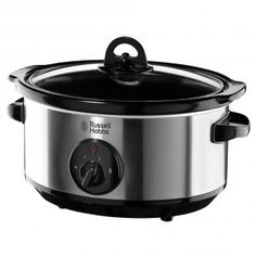 Makes cooking a family meal simple by using the Russell Hobbs 19790 Slow Cooker. It ideal for cooking 4 to 5 portions of food in the litre capacity bowl Russel Hobbs, Slow Cooker Reviews, Best Slow Cooker, Crockpot, Cooking Appliances, Small Kitchen Appliances, Kitchen Gadgets, Slow Cooking, Cooking Ideas