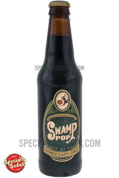 Swamp Pop Noble Cane Cola 12oz Glass Bottle