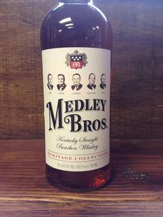 Whiskey, Medley Brothers Bourbon, Heritage Collection, Wathens Kentucky Bourbon