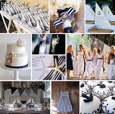 Nautical Wedding    nautical wedding concepts for parasolofdesign.com