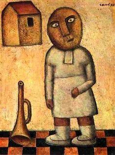 Carlo Carrà - Antigrazioso Bambina