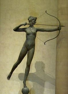 Goddess Diana of the Hunt - in the Philadelphia Museum