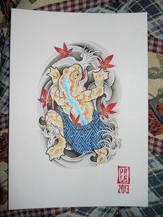 japanese frog more tattoo ideas tattoo idols japanese tattoos sleeve ...